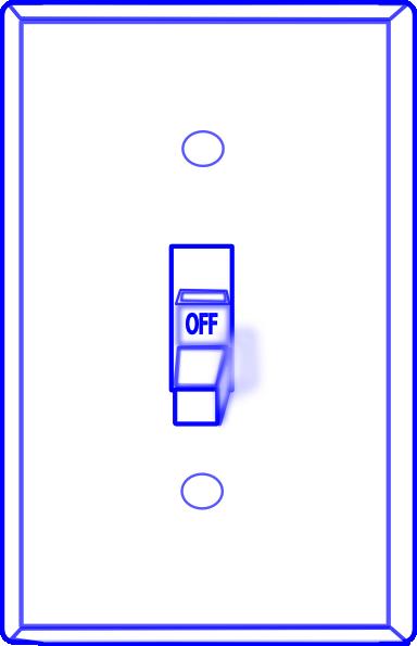Light Switch Off Clip Art At Clker Com   Vector Clip Art Online