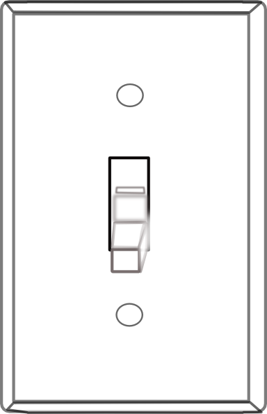 on off switch clipart