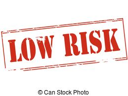 Low Risk   Rubber Stamp With Text Low Risk Inside Vector
