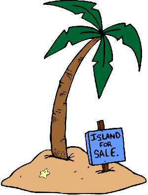 Palm Tree Clipart   Island For Sale Sig