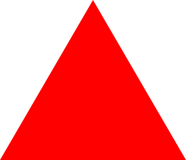 Red Triangle Clip Art At Clker Com   Vector Clip Art Online Royalty