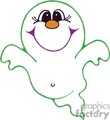 Royalty Free Cute Friendly Ghost Clipart Image Picture Art   144900