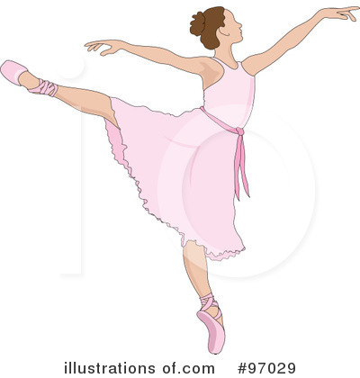 Royalty Free  Rf  Ballet Clipart Illustration By Pams Clipart   Stock