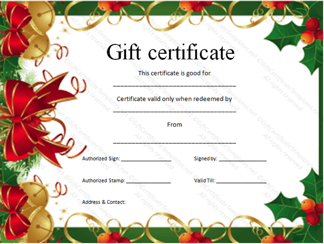 Printable Gift Certificates Clipart Clipart Kid – Gift Voucher Certificate Template