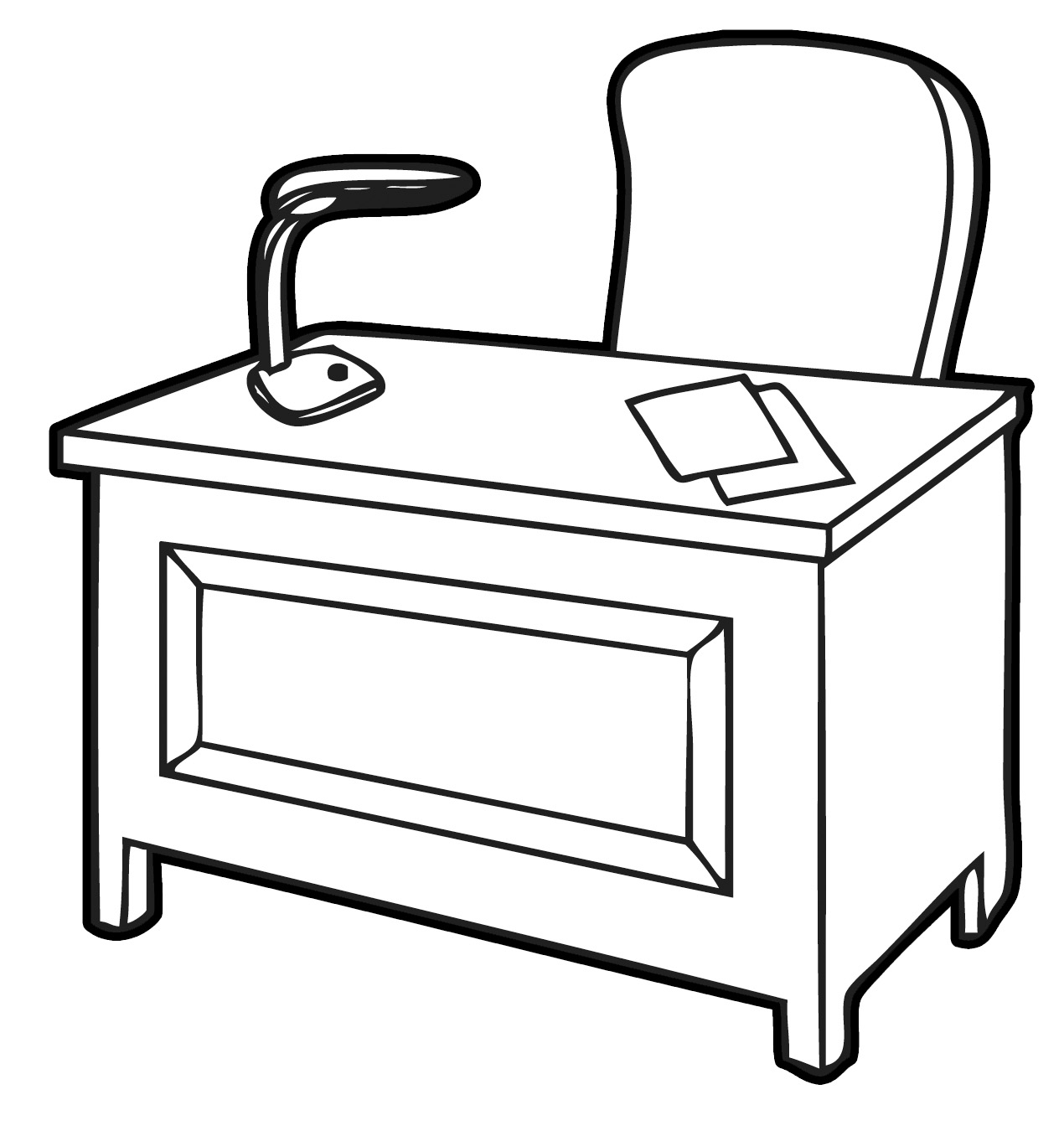 Table Clip Art Black And White   Clipart Panda   Free Clipart Images