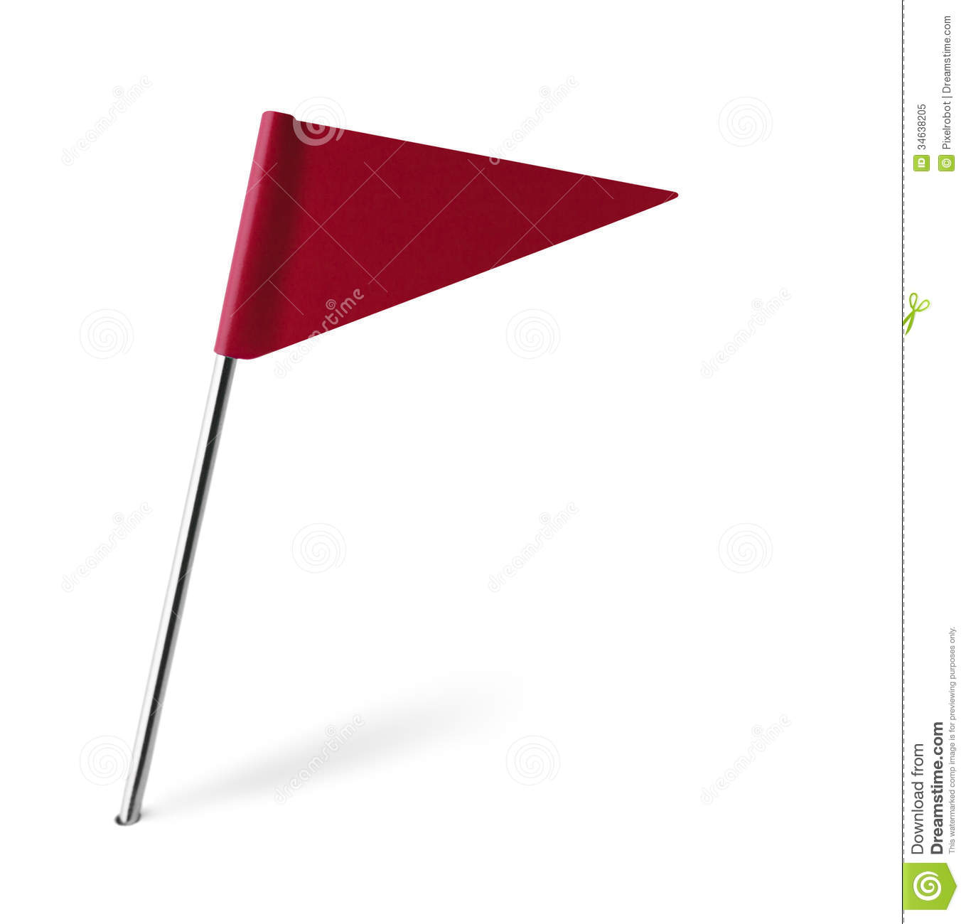 Triangle Flag Clipart - Clipart Kid