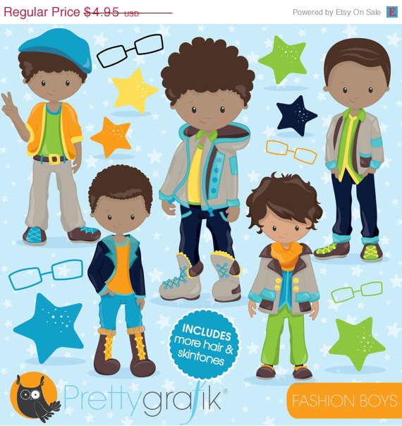 80  Off Sale Fashion Boys Clipart Commercial Use Kid Clipart Vector