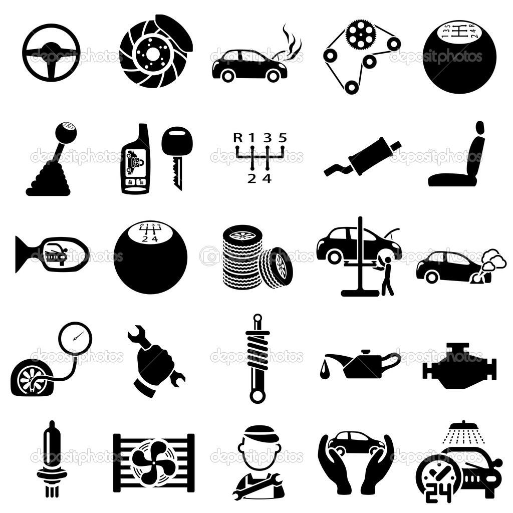 Automotive Parts Clip Art Cliparts