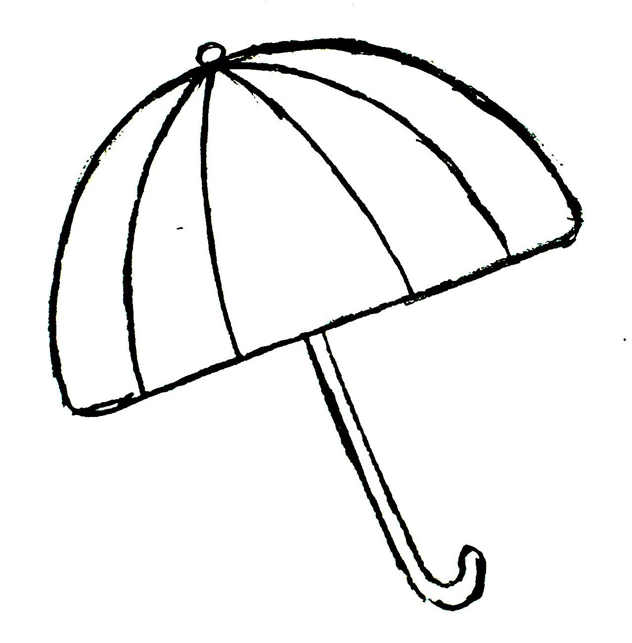 Cute Umbrella Drawing   Clipart Panda   Free Clipart Images