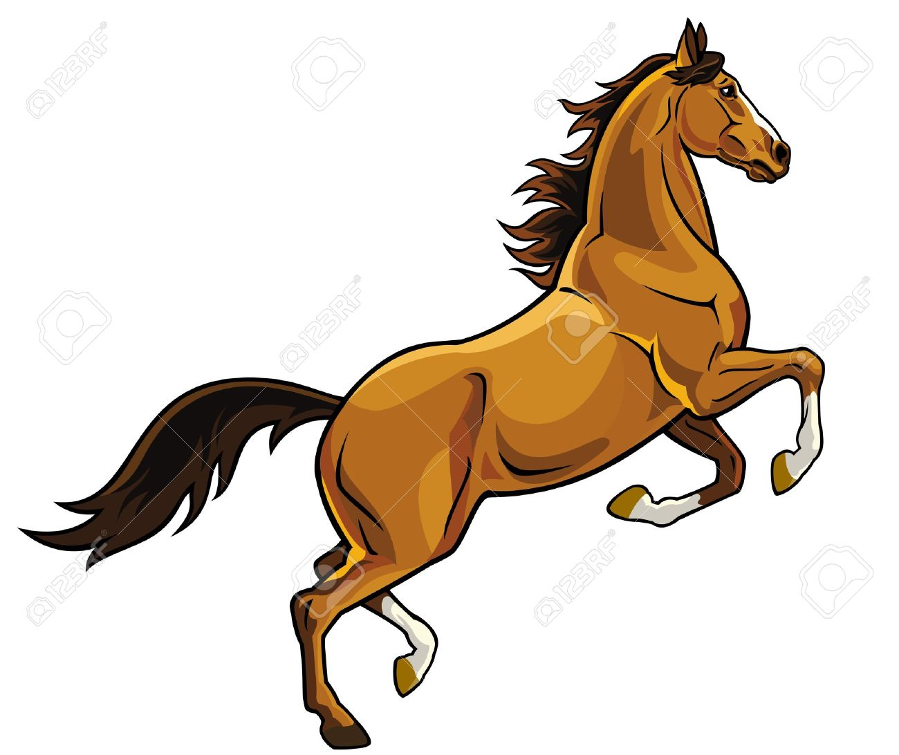 Horse Clip Art : Stallion clipart suggest