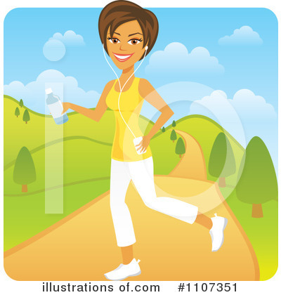 Exercising Clipart  1107351 By Amanda Kate   Royalty Free  Rf  Stock