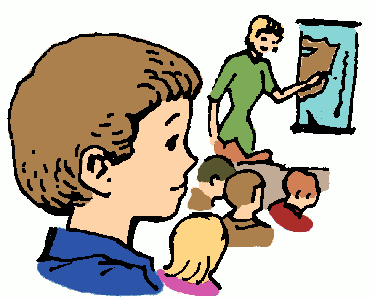 Free Clipart Of School Classroom Clipart Of A Student Boy Who