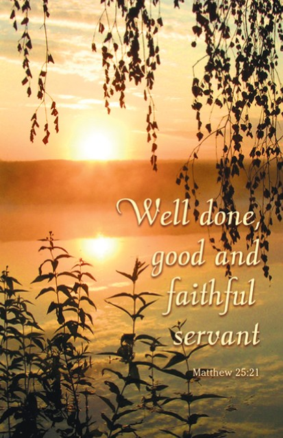 Go Back   Gallery For   Well Done Good And Faithful Servant Clipart