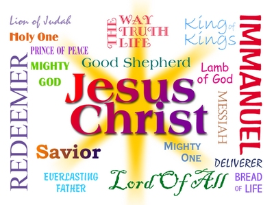 The Names Of Jesus Christ As Mentioned In The Bible