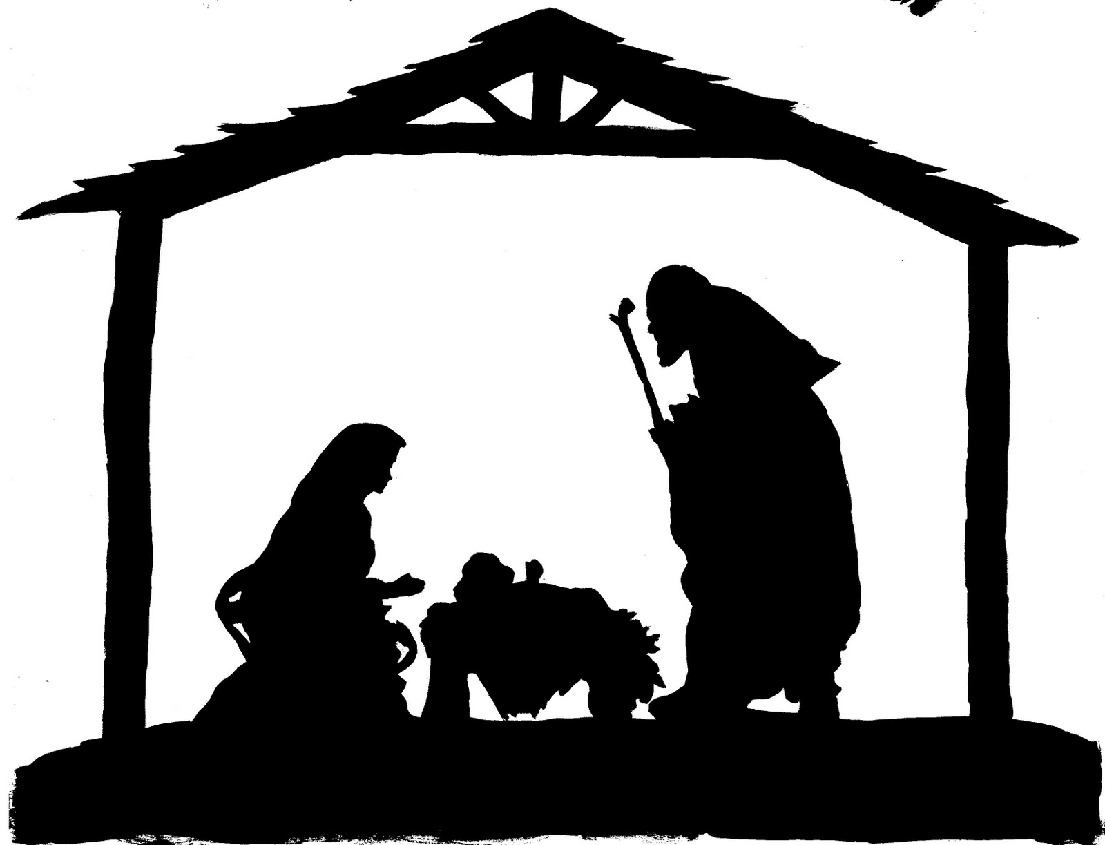 Clip Art Nativity Clip Art nativity silhouette clipart kid 10 patterns free cliparts that you can download