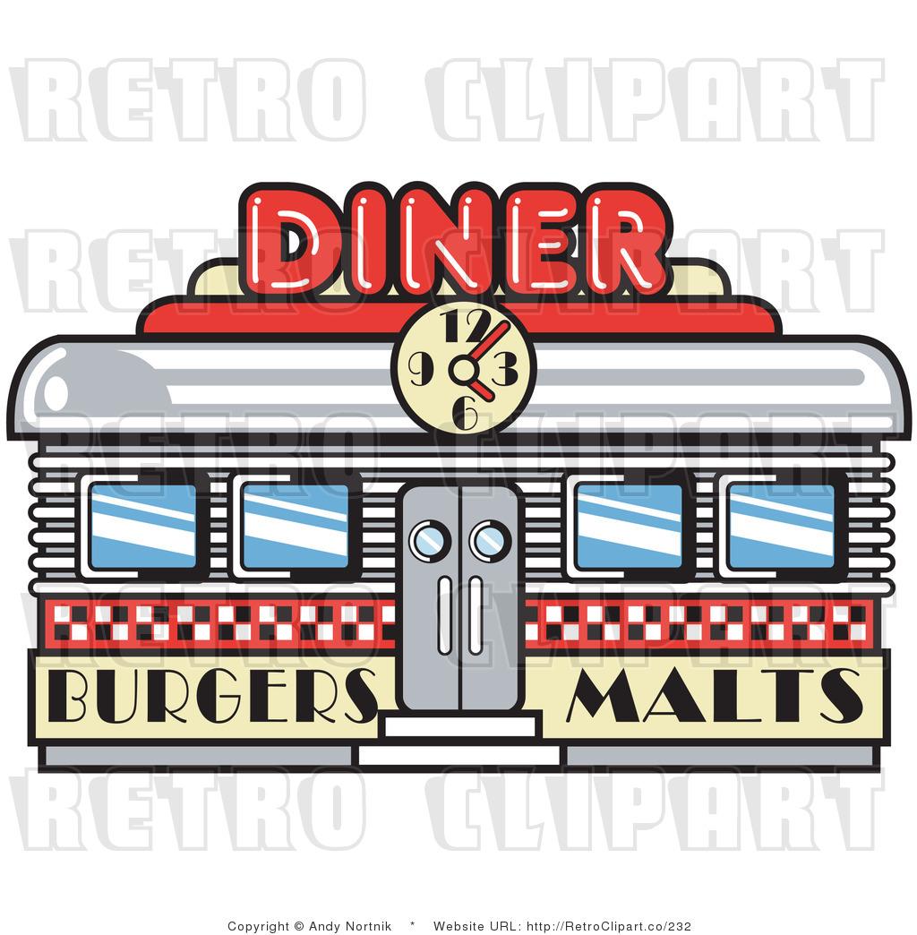 Design 50s diner clipart clipart suggest for Diner artwork