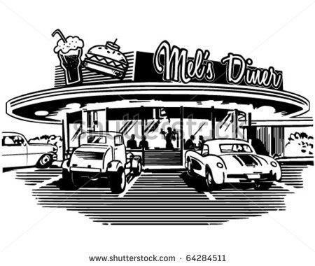 50s Diner Stock Photos Images   Pictures   Shutterstock