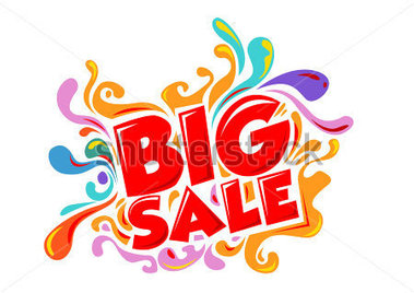 Big Sale Promo Department Store Stock Vector   Clipart Me
