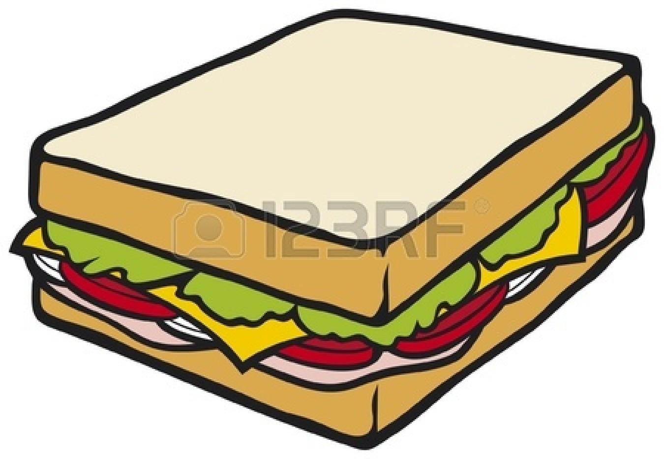 Image Gallery ham sandwich clip art
