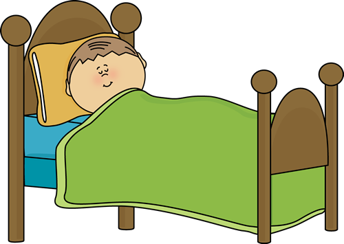 Going to Bed Clip Art