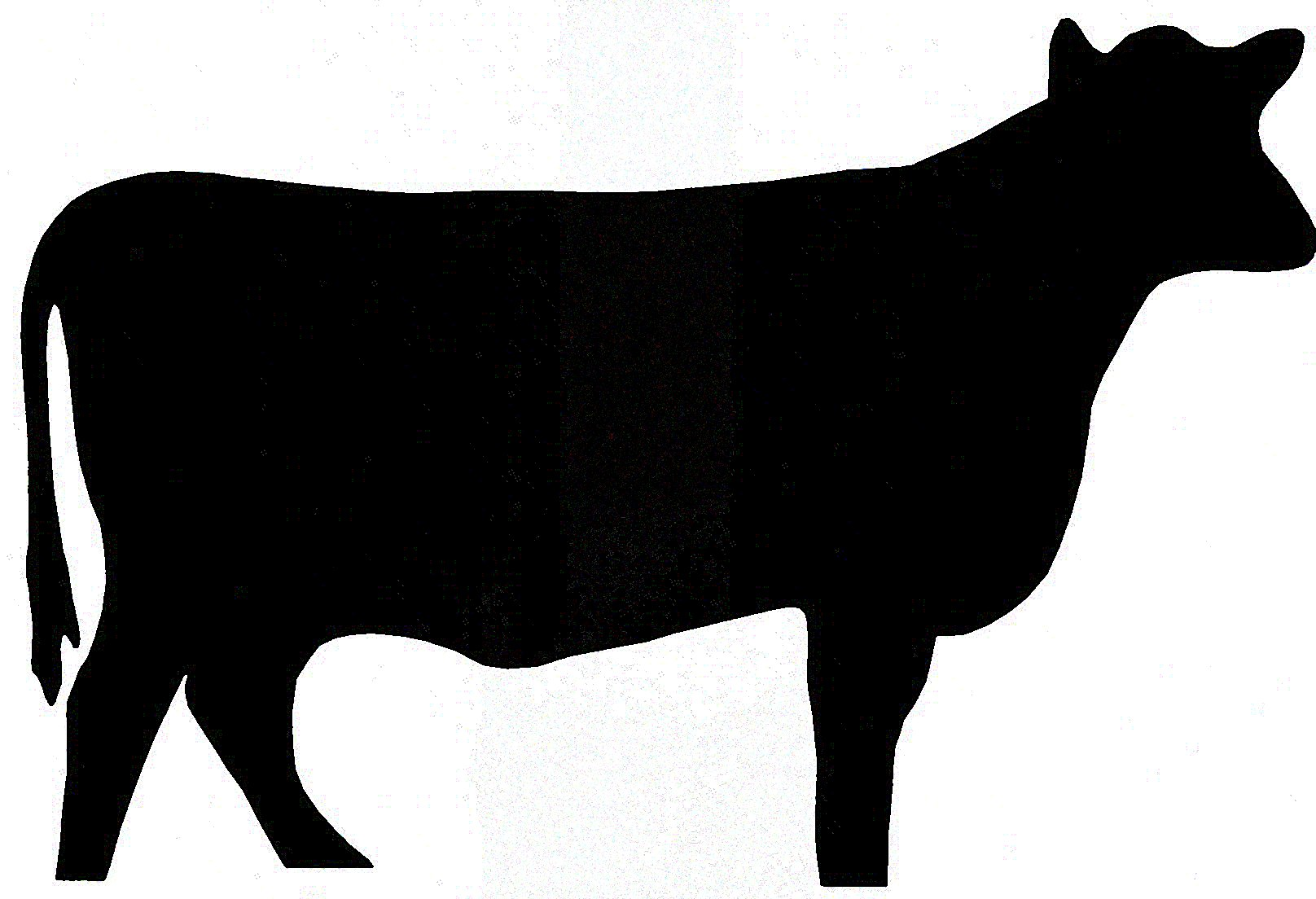 Cow Head Silhouette Clip Art   Clipart Panda   Free Clipart Images