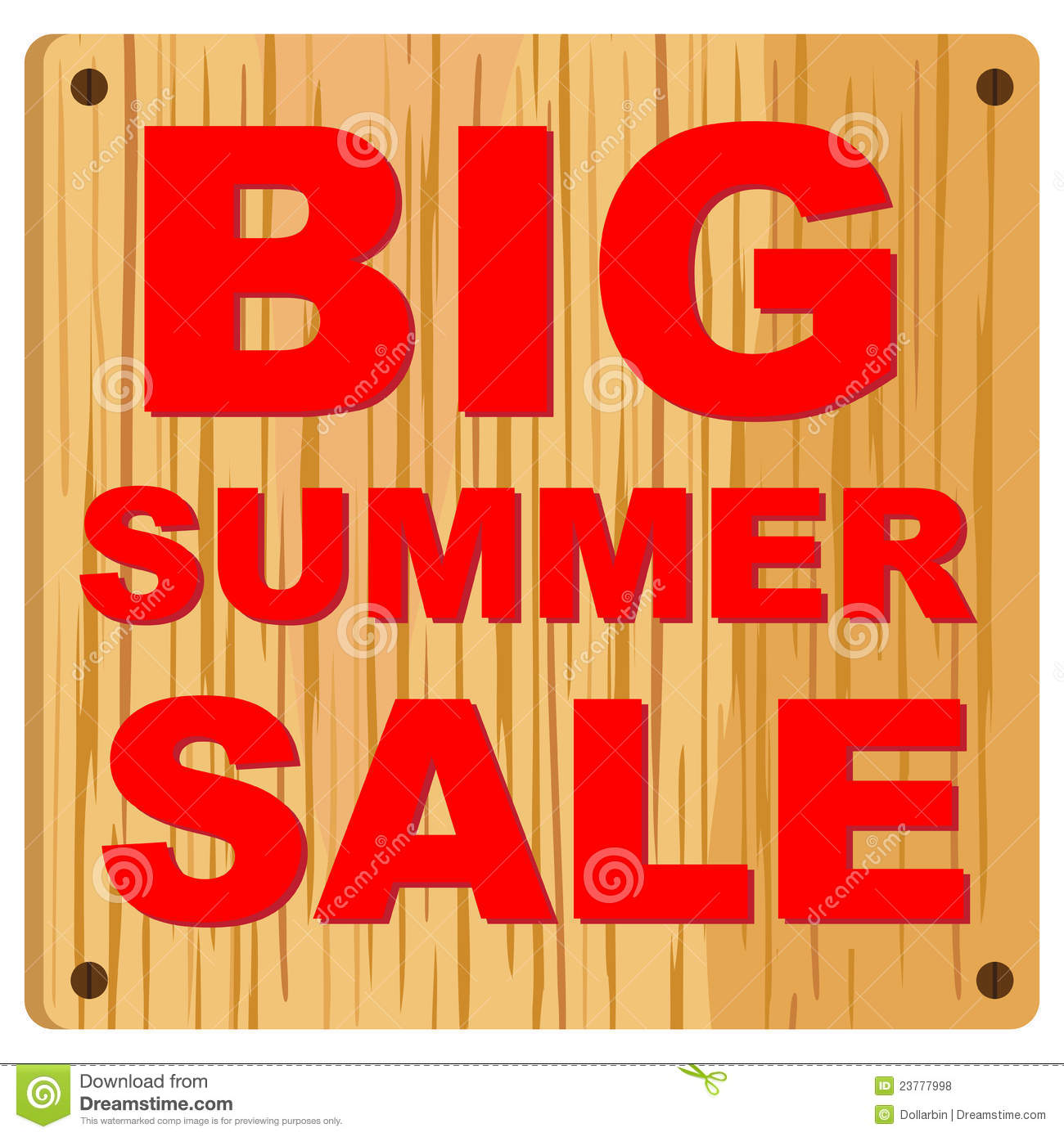 Final Sale Clipart Big Summer Sale Royalty Free