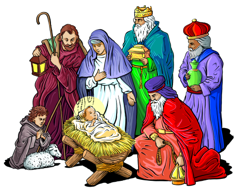 Free Nativity Clipart   Public Domain Christmas Clip Art Images And