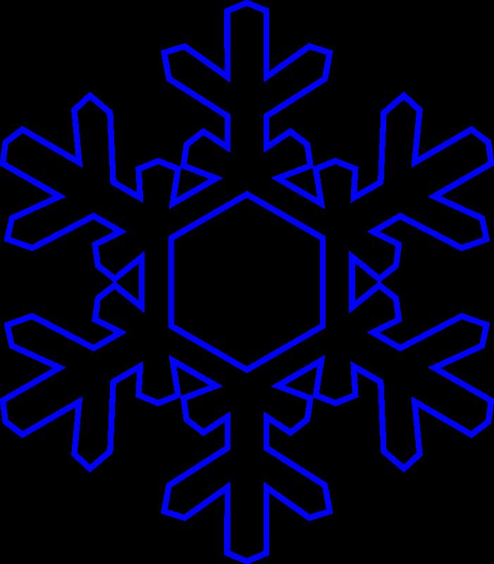 Google Borders Snowflake Clipart - Clipart Kid