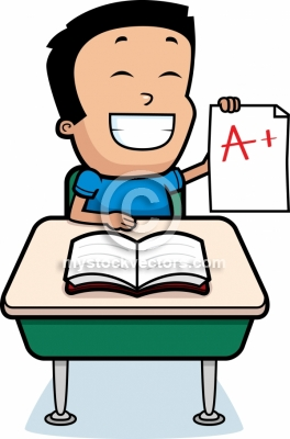 Grades Clipart Cartoon Boy Grades Royalty