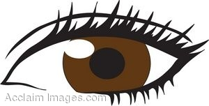Brown Eyes Clipart - Clipart Kid
