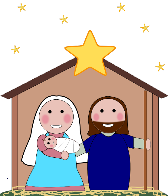 Nativity Scene Clip Art 711 X 720 141 Kb Jpeg Christmas Clipart 720