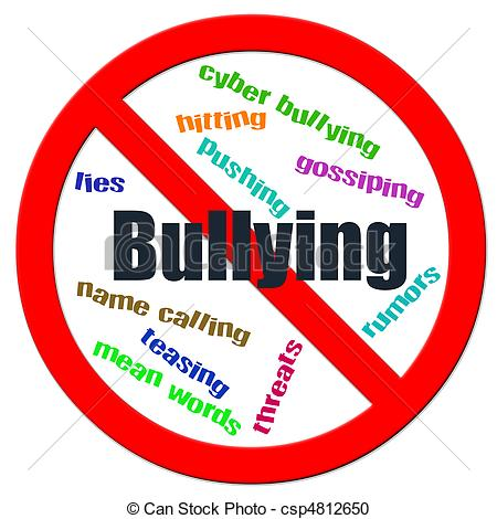 Of Stop Bullying   Stop Bullying Logo Csp4812650   Search Clipart