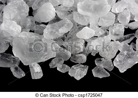 Picture Of Rock Salt Crystals   White Crystals Of Rock Salt For Ice