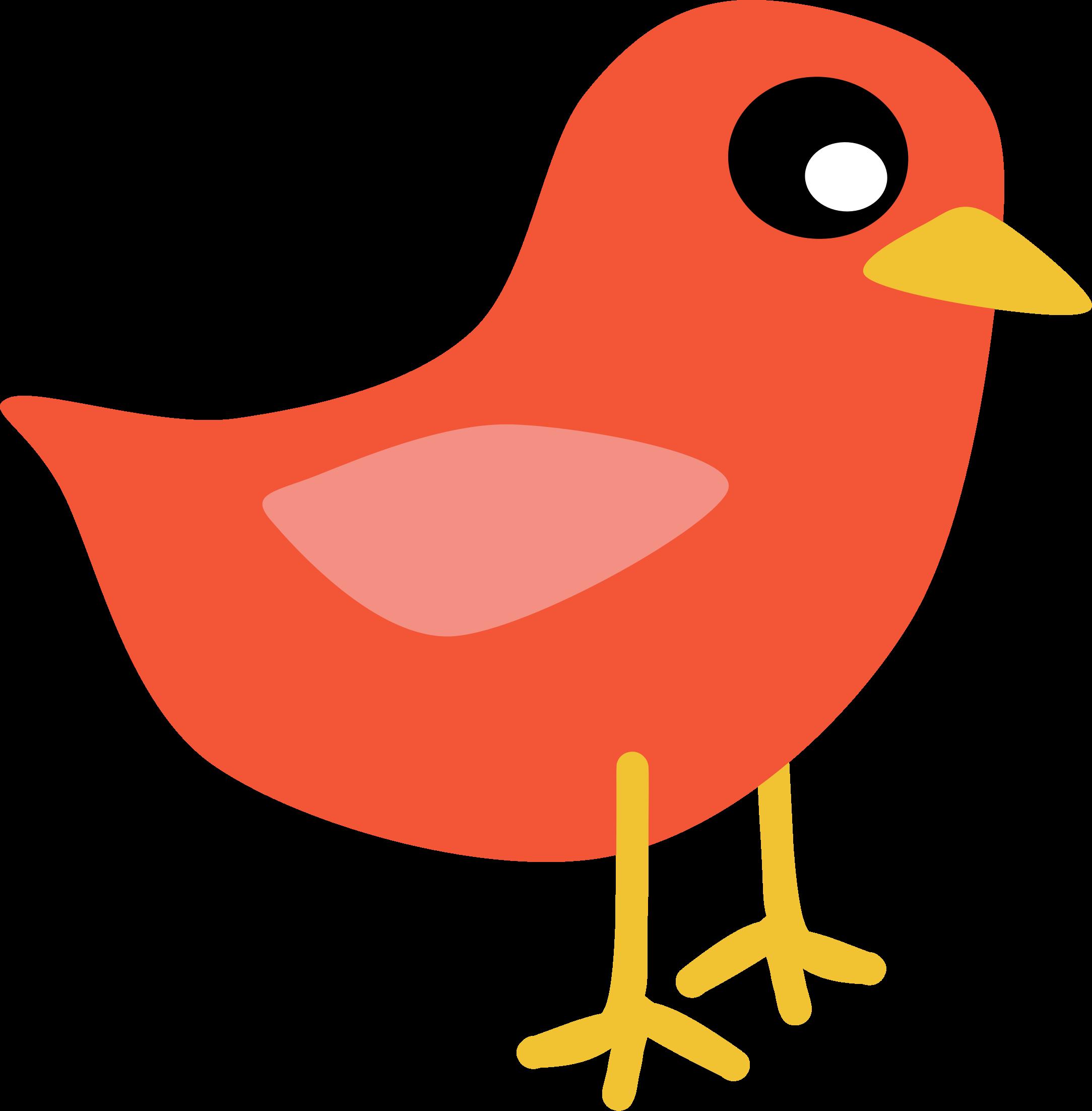 Red Bird Clipart - Clipart Kid