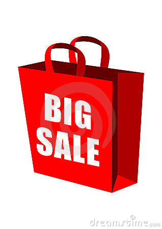 Sale Shopping Bags Clipart Big Sale Shopping Bag 8104683 Jpg