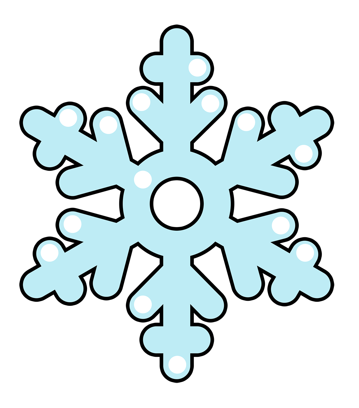 Snowflakes Clip Art Images Free For Commercial Use #h4uMbi ...
