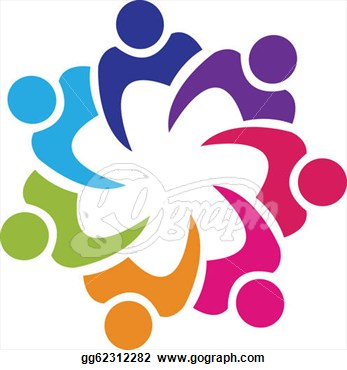 Art   Teamwork Union People Logo Vector  Clipart Drawing Gg62312282