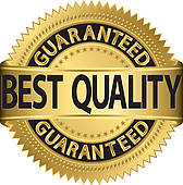 Best Quality Guaranteed Golden Labe   Clipart Graphic