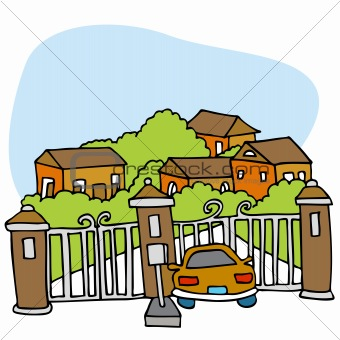 Security Gate Clipart