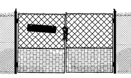 Security Gate Stock Vectors Illustrations   Clipart