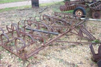 Spring Tooth John Deere Spring Tooth Harrow   Antique Tractor