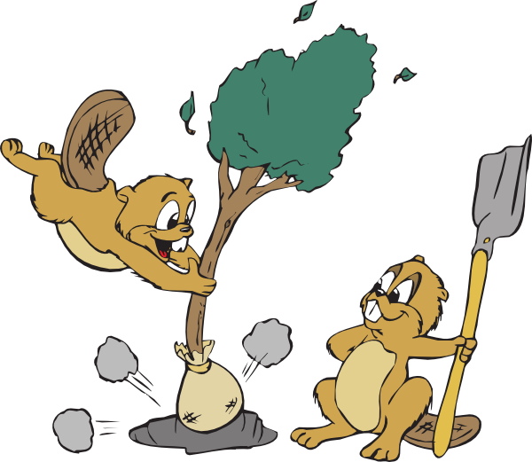 Tree Planting Clipart Images