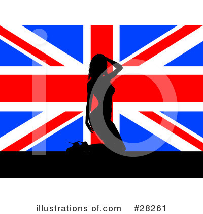 Union Jack Clipart  28261 By Kj Pargeter   Royalty Free  Rf  Stock