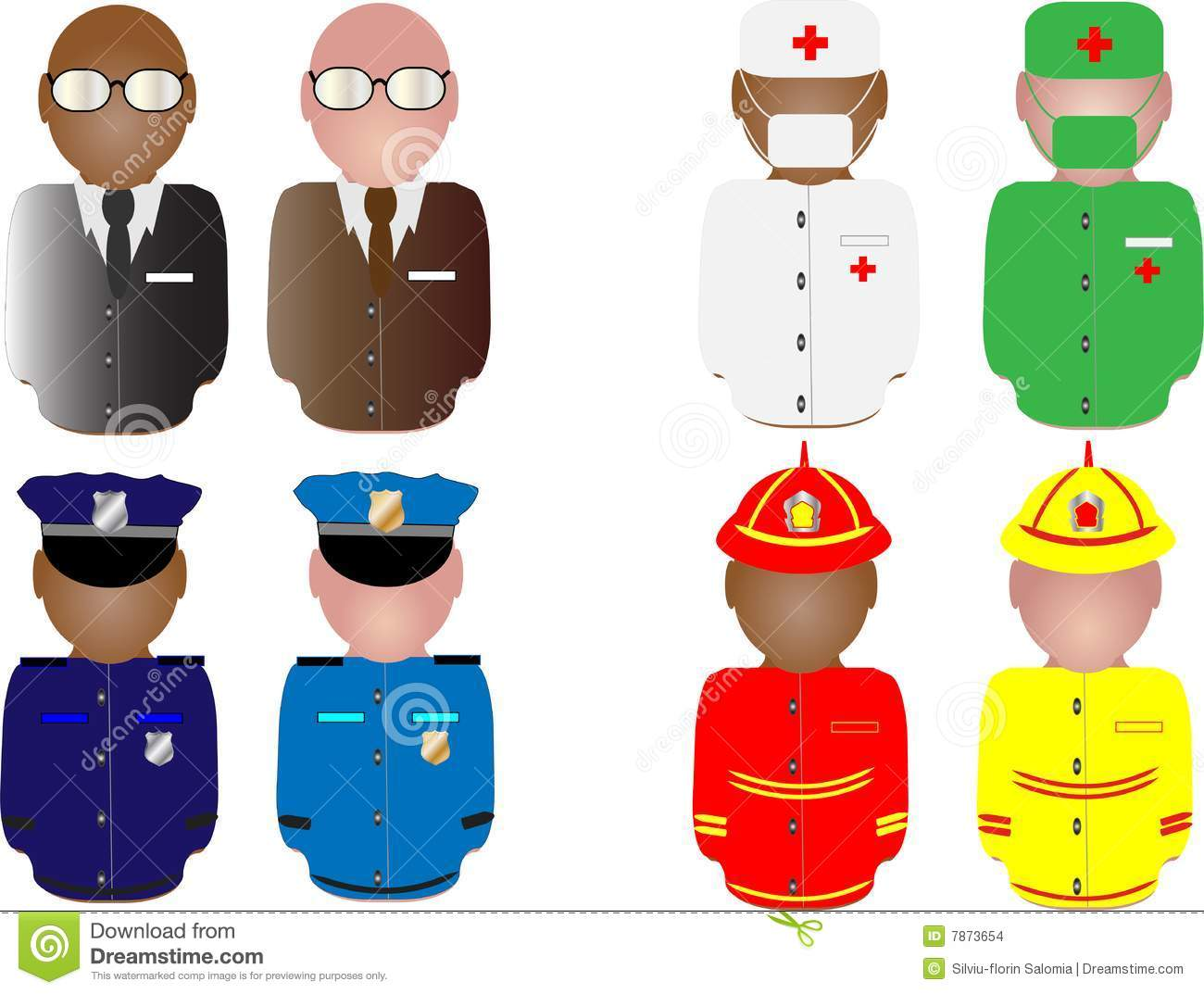 Work Uniform Clipart - Clipart Kid