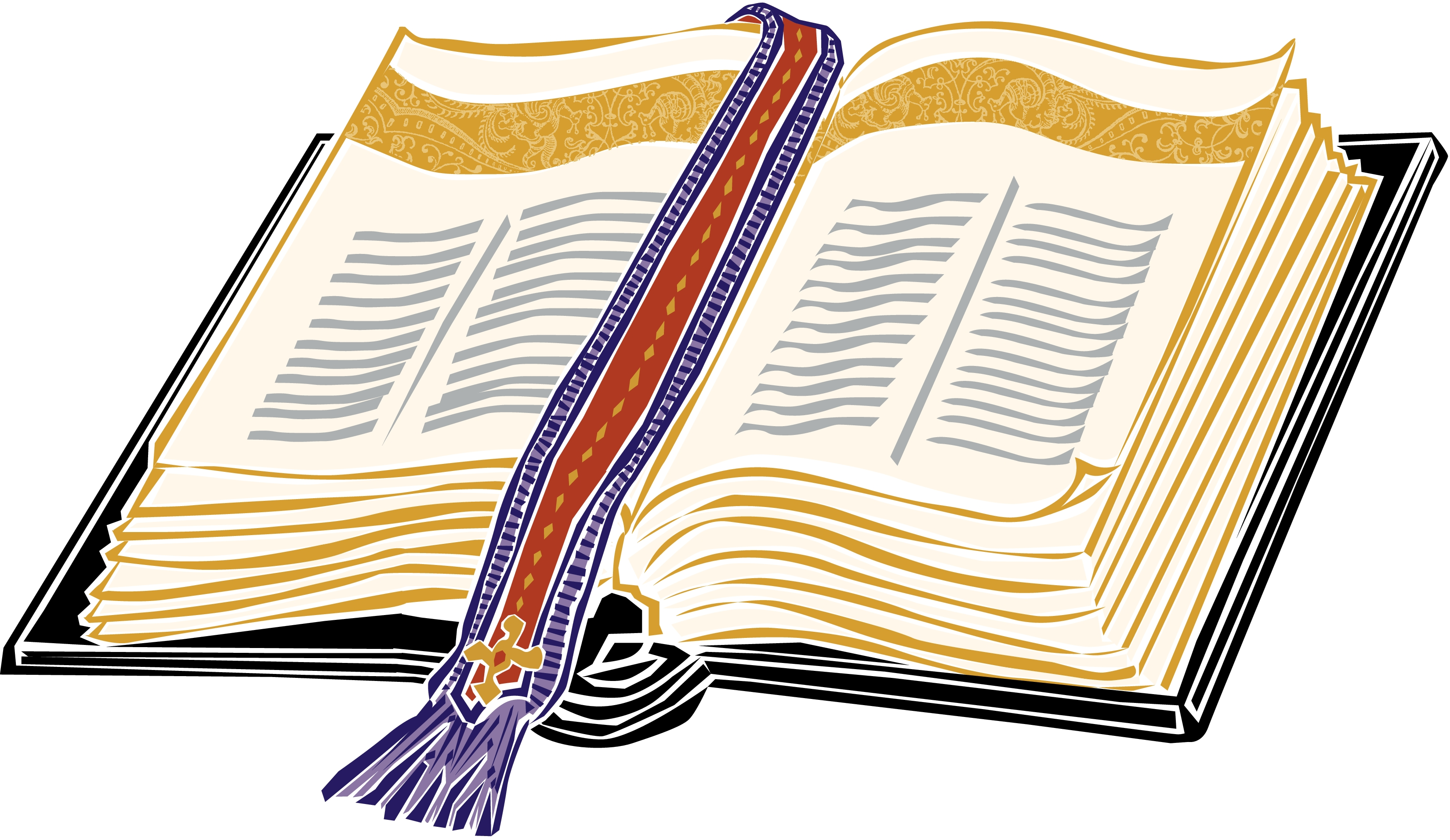 Clip Art Clipart Bible cross and bible clipart kid 39 books of the bible