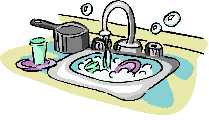 Clip Art Doing Dishes Free Cliparts That You Can Download To You