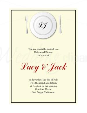 dinner invitation clipart  clipart kid, Quinceanera invitations