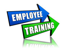 Employee Training In Arrows Royalty Free Stock Photos