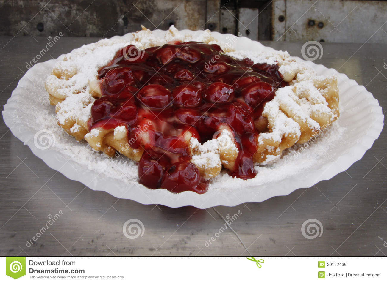 Funnel Cake Royalty Free Stock Image   Image  29192436