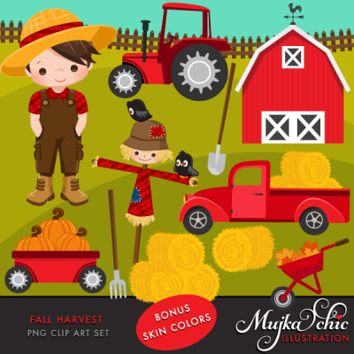 Home   Cliparts   Seasons   Autumn   Fall Harvest Clipart